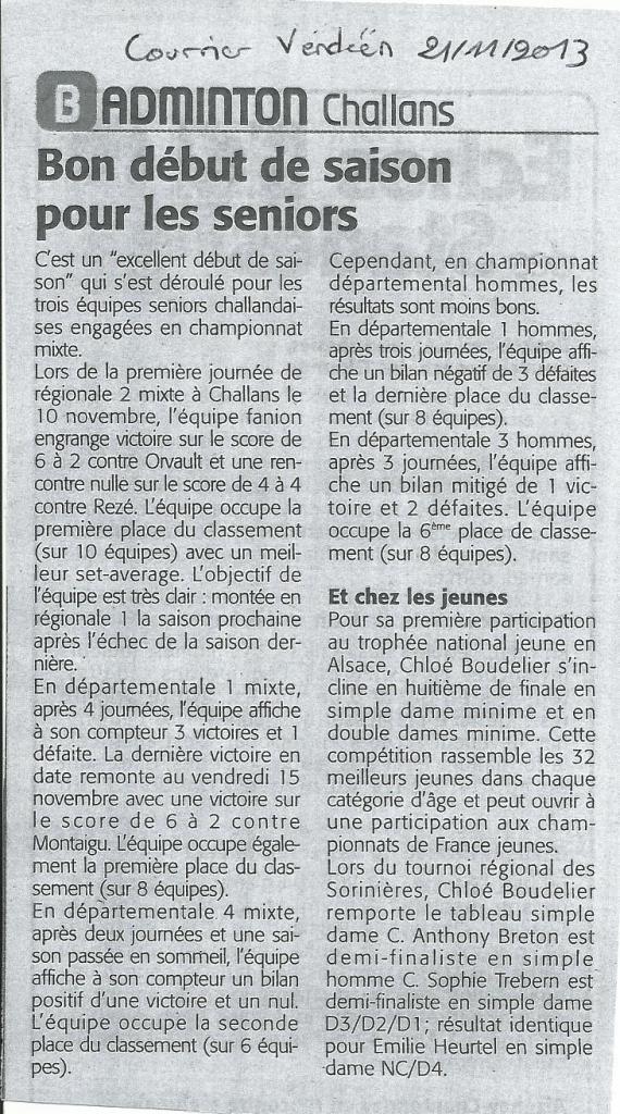 C Vendéen 21 11 13