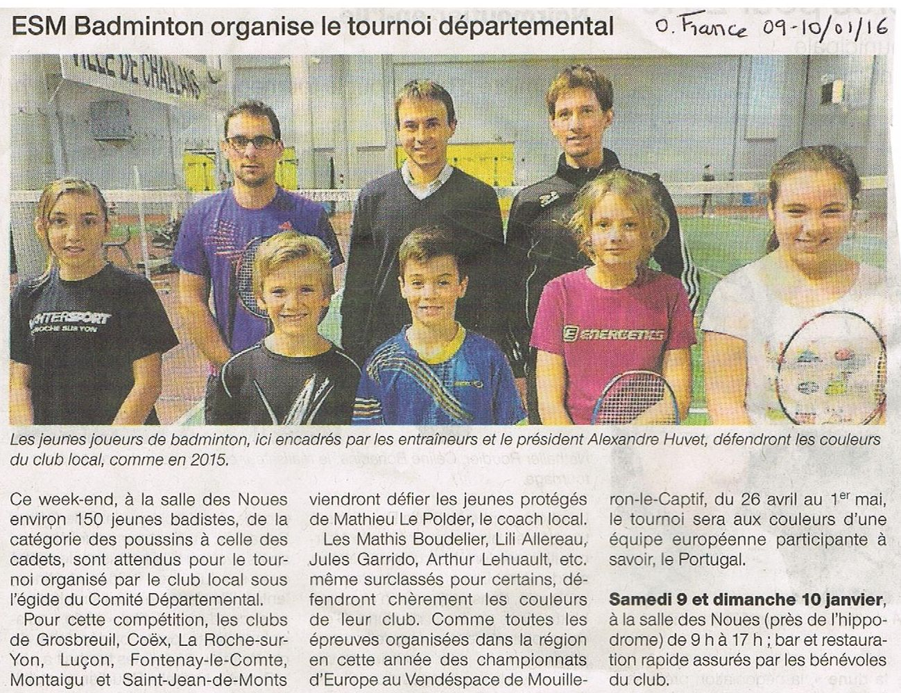 Ouest france 09 10 01 16